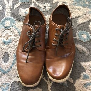 Aldo men's brown leather casual shoes